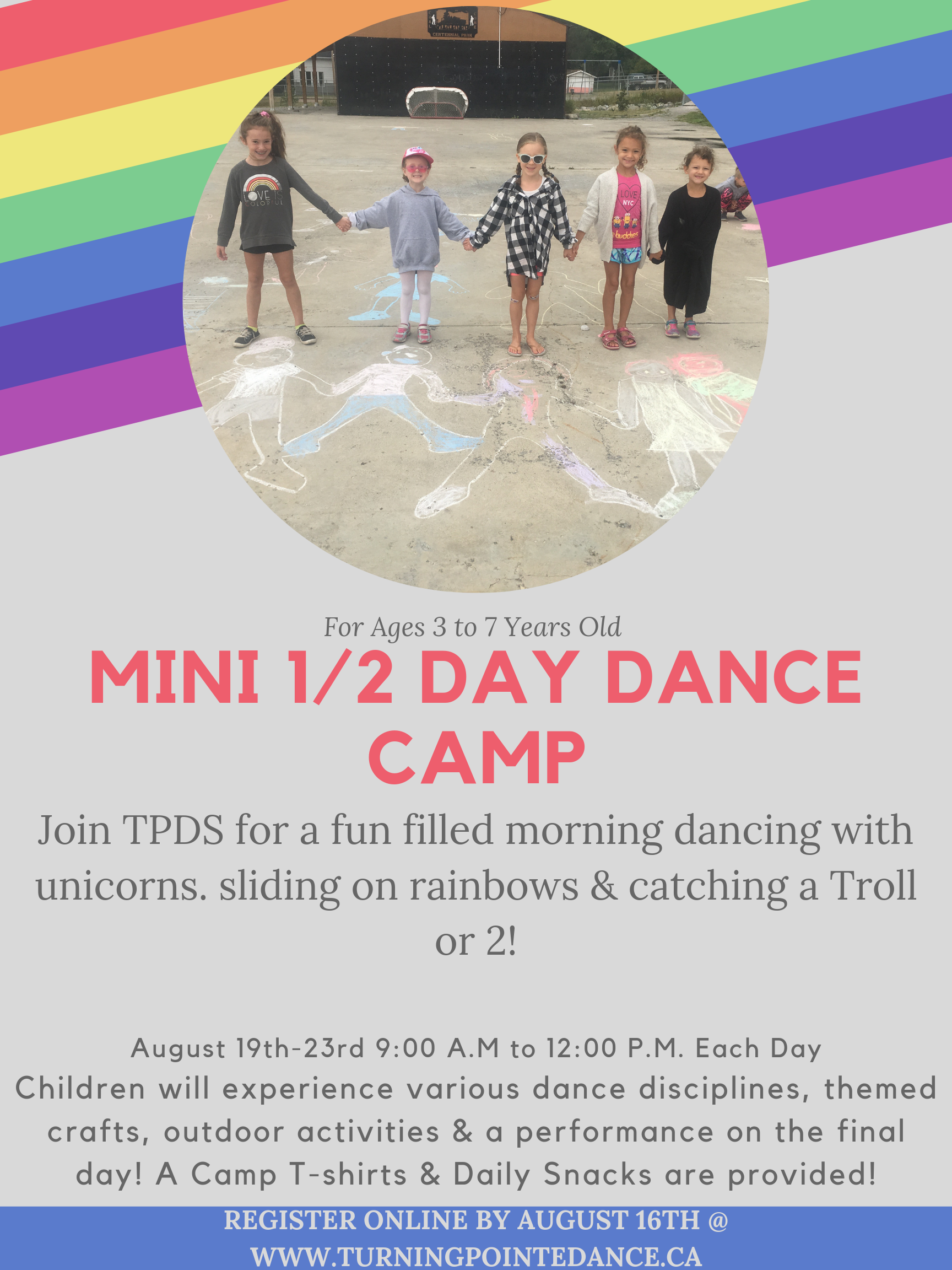 Summer Dance Camps – Turning Pointe Dance
